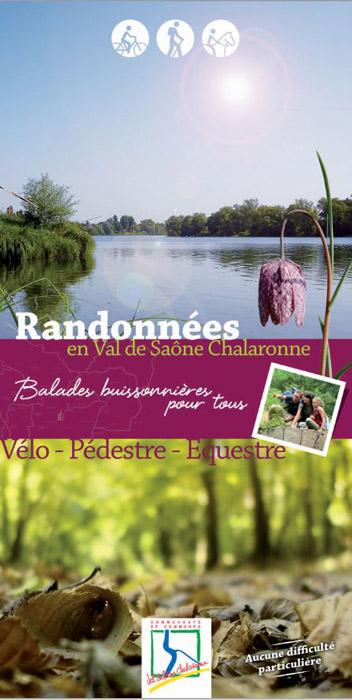 Guide des randonnées en Val de Saône Chalaronne
