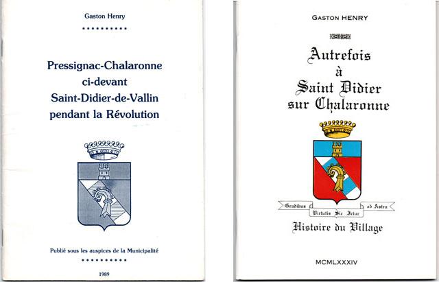 Livres de Gaston Henry