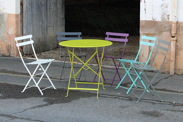 Tables et chaises Fermob