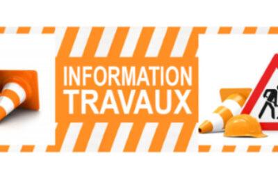 Travaux : Rue de Crénans – Parking Rue des Illards