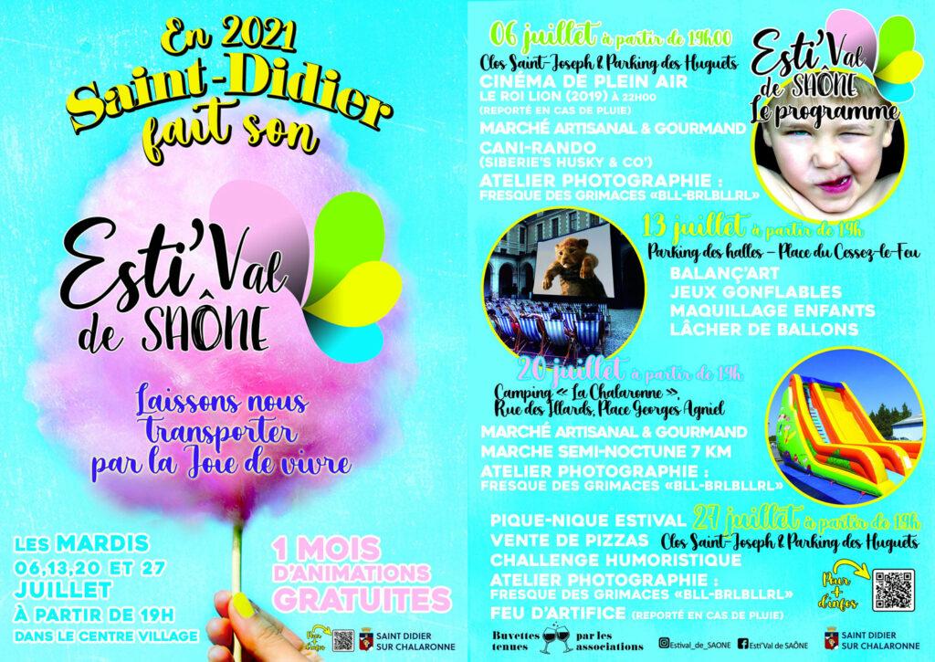 Programme - Esti'Val de Saône